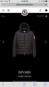 Moncler O collection with Off-White c/o Virgil Abloh™. Size 3