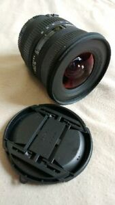 Sigma 10-20 EX DC HSM for Canon