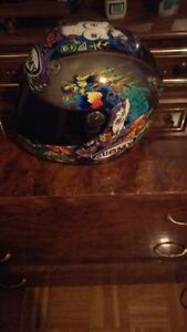 Suomy Vandal Tattoo Motorcycle Helmet Size M PICK UP ONLY OBO
