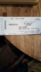 TICKET 20 YEARS OF PLACEBO FRIDAY 2ND DECEMBER 2016 IN GLASGOW