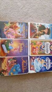 6 Disney movies VHS $20. for all  call 519-673-9819 London Ontario image 2