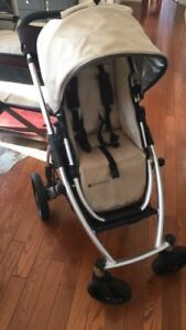 UppaBaby Vista Stroller System with Bassinet Stand and Travel Ba