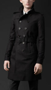 Men's Burberry Prorsum Gabardine Trench Coat