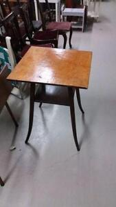 Vintage Solid Wood Parlour Table  for sale