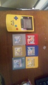 All 6 Pokemon games and limited edition Pokemon Gameboy Colour