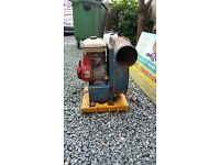 Honda petrol blower for use with a bouncy castle 3.5 hp