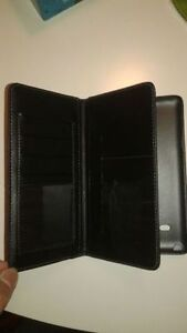 NEW SAMSUNG GALAXY NOTE 4 CELL PHONE LEATHER WALLET FLIP CASE