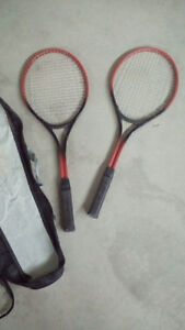 TWO MATCHING NEWER GC TENNIS RACQUETS