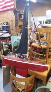 Hand made sailing ship for sale