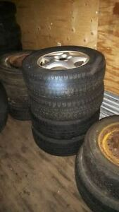 Assorted 16 Inch Tires Some Winter some with Rims Starting $10