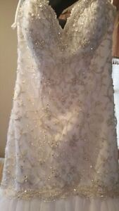 A brand new never used bridal gown!