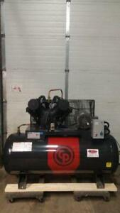 NEW Chicago Pneumatic Premium Model 10hp 575v 120g horizontal  air compressor-IN STOCK!!!