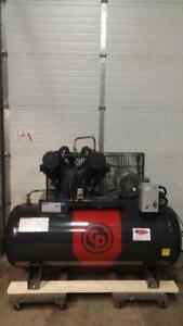 NEW Chicago Pneumatic Premium Model 10hp 575v 120g horizontal  air compressor-IN STOCK!!!