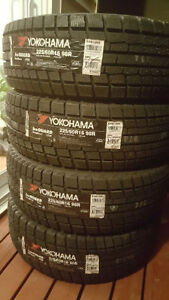 BRAND NEW YOKOHAMA TIRES 225 60 16 AND 215 65 16
