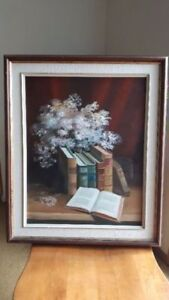 * BEAUTIFUL ORIGINAL OIL PAINTING, /on BOARD  (-New Price !)