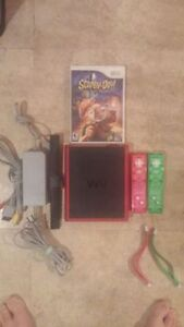 Nintendo Wii Mini With 2 Controllers, Nunchuk And Game!