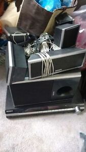Sony DVD Home theatre system Kitchener / Waterloo Kitchener Area image 1