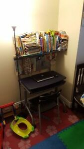 Computer Desk + Chair for Toddlers/Kids