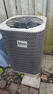 2 TON GIBSON J85BD-024K CENTRAL AIR CONDITIONER LIKE NEW