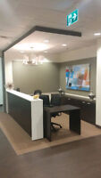 Brand New Office with 10 Workstation Office Cluster(Save $21304)