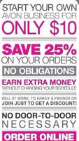 Come join my Avon Team today.