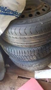 """215 65 16 rims and tires Can be sold separately) 16""""rims 5×114.3"""