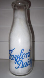 Wanted - Any ACL/Embossed Niagara Region Milk Bottles..$$ Pd.