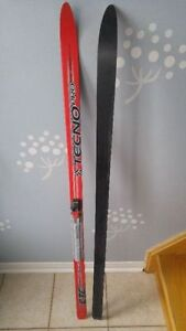 Cross-country ski CTC Speed by TechnoPro 140cm with SNS bindings