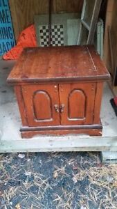 "Cathedral Doors Side Table ""HFX Hoarders and Collectors"""