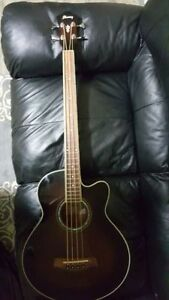 Ibanez AEB10E Acoustic-Electric Bass Guitar