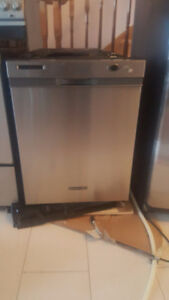 KitchenAid mint condition stainless steel dishwasher for sale