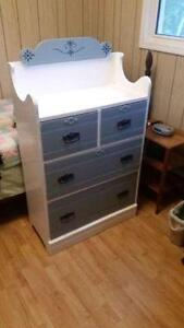Vintage Solid Wood Chest of Drawers for Sale