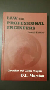 Law for professional engineers 4th ed. Marston