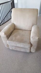 Custom Made Swivel Rocker Recliner