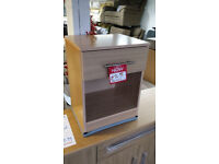 Ex-display clearance factory made bedside cabinet