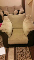 Rarely Used comfortable Beige sued Sofa