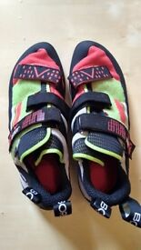 Unused Boreal Joker Plus Climbing shoes (Size 11)