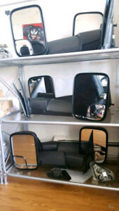 Brand New Sets Dodge Ram Tow Mirrors - Most Years Available