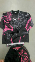 ladies jersey & matching pants M size
