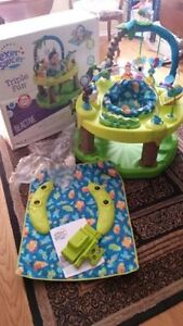 Evenflo Triple Fun ExerSaucer like new used for one baby