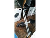 V-FIT FOLDING X FRAME MXC-1 MAGNETIC RESISTANCE EXERCISE BIKE - Delivery available