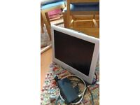 Sharp TV with freeview box