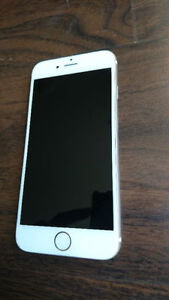 iphone 6 64GB Gold 8-10 condition on fido
