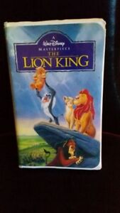 REDUCED ... LION KING VHS, MASTERPIECE COLLECTIBLE Edmonton Edmonton Area image 1