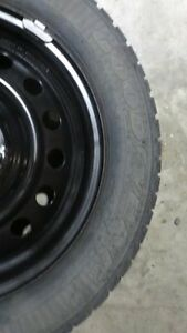 15 inch steel rims with Good Year winter tires on them $150 Strathcona County Edmonton Area image 2