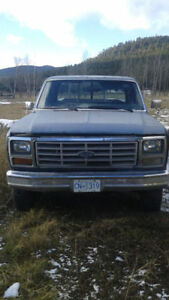 LOOKING FOR OWNER 1986 Ford F-250 Pickup Truck