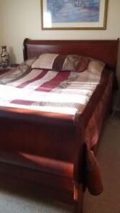 BEDROOM SUITE, DINING AND KITCHEN TABLE, AND BEDROOM CHEST