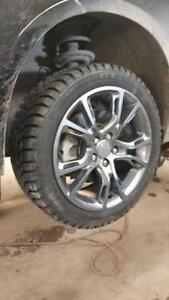 """2014-2017 Jeep Cherokee Winter Tires w/ Rims Wheels NEW 17"""" MPI FINANCING AVAILABLE 225/65r17 Nice Rims r17"""