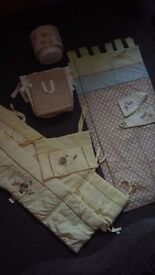 Mamas and Papas / Next Nursery Items, Cot Bumpers, Curtains Etc.