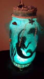 GET IT NOW! MERMAID IN A JAR HAND CRAFTED ONE OF A KIND Cambridge Kitchener Area image 5